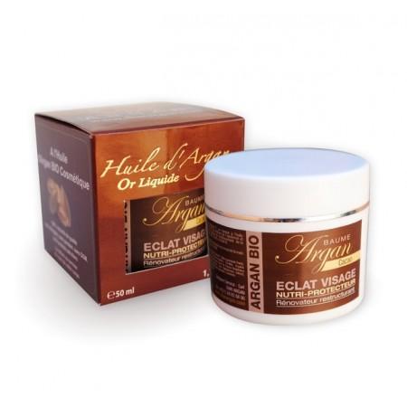 Бальзам для лица и шеи от морщин с аргана и какао-шоколадом