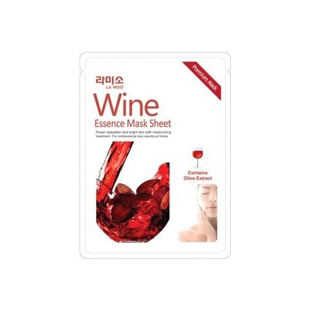 Маска-салфетка с экстрактом красного вина