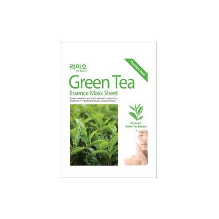 Маска-салфетка с экстрактом зеленого чая