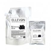 ELLEVON Альгинатная маска с углем