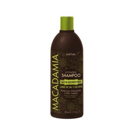 Увлажняющий шампунь для нормальных и поврежденных волос MACADAMIA