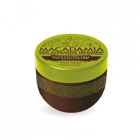 Интенсивно увлажняющая маска для нормальных и поврежденных волос MACADAMIA