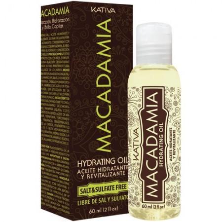Увлажняющее восстанавливающее масло для нормальных и поврежденных волос MACADAMIA