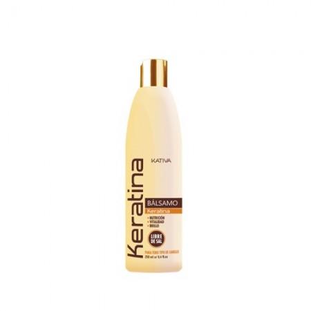 Кератиновый укрепляющий бальзам-кондиционер для всех типов волос KERATINA