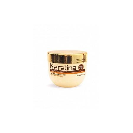Кератиновая интенсивно восстанавливающая маска для поврежденных и хрупких волос KERATINA