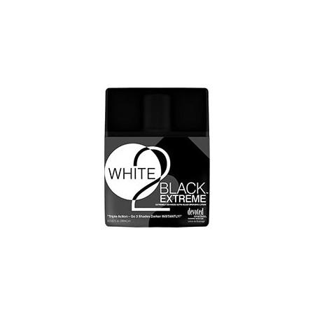 WHITE 2 BLACK Extreme™ Усовершенствованный ультра-темный бронзатор.