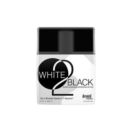 WHITE 2 BLACK Лосьон для загорелой кожи с бронзаторами замедленного действия