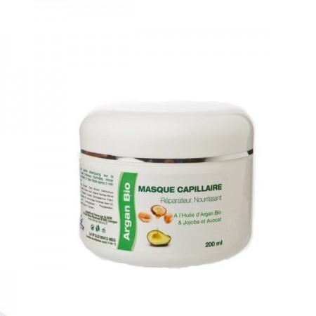 Восстанавливающая маска для волос с маслом Арганы и Авокадо