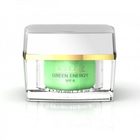 Крем «Зеленая энергия» увлажняющий для жирной и комбинированной кожи