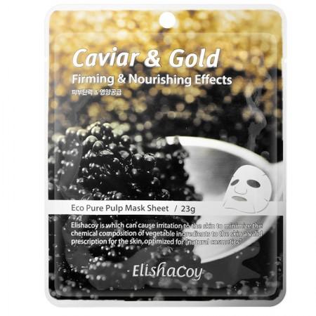 Маска-салфетка с икрой и золотом CAVIAR & GOLD MASK SHEET