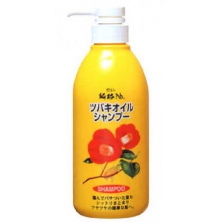 Kurobara Шампунь для поврежденных волос с маслом камелии японской