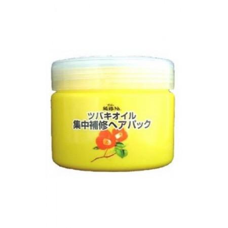 Kurobara Интенсивно восстанавливающая маска для повреждённых волос с маслом камелии японской