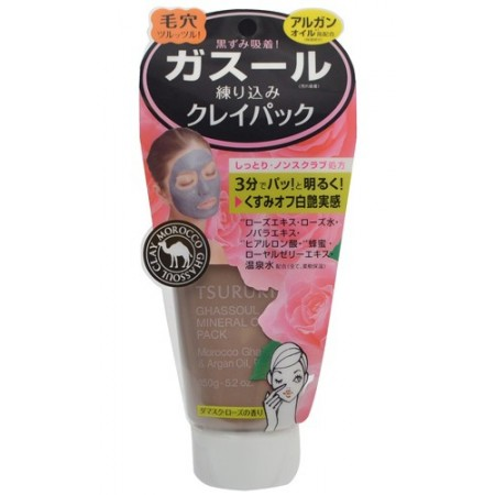 Крем-маска для лица с глиной (с ароматом розы)
