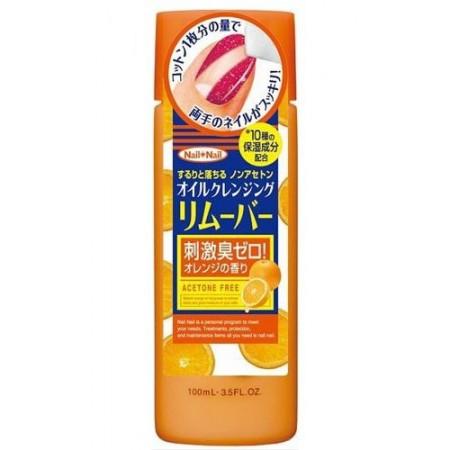 Жидкость для снятия лака с апельсиновым маслом (без ацетона) NAIL OIL REMOVER