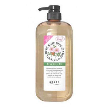 Шампунь на основе натуральных растительных компонентов (с маслом шиповника)