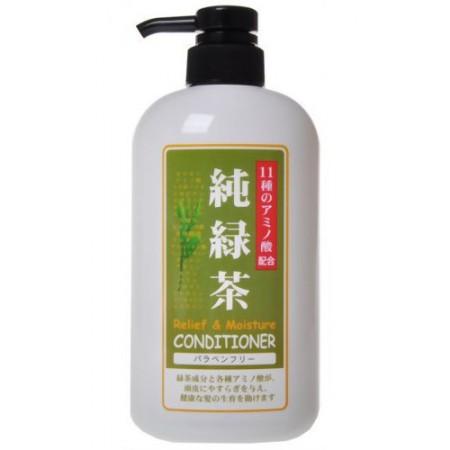Растительный бальзам для волос с расслабляющим эффектом (с экстрактом зеленого чая)