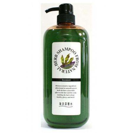 Шампунь на основе натуральных растительных компонентов (с экстрактом бурых водорослей, для сильно поврежденных волос)