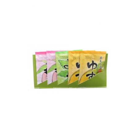 Соль для ванны увлажняющая (с ароматами персика, полыни и юдзу)