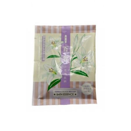 Соль для ванны увлажняющая (с экстрактом лилии)