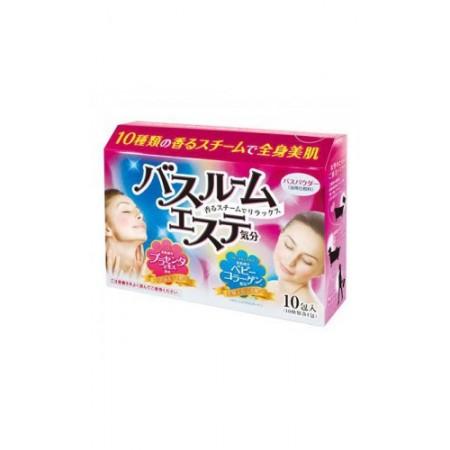 Соль для принятия ванны (с плацентой и коллагеном, 10 ароматов)