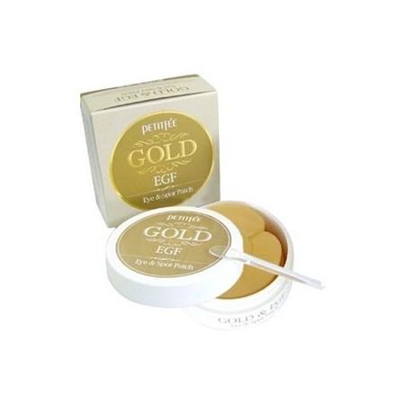 Гидрогелевая маска для кожи вокруг глаз с золотом и EGF