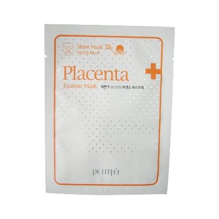 Маска для лица с плацентой и экстрактами растений