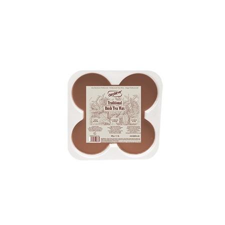 Горячий воск с экстрактом чая ройбуш TRADITIONAL BUSH TEA WAX Depileve, 0,5 кг.