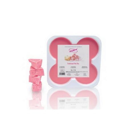 Горячий воск Розовый TRADITIONAL PINK WAX Depileve, 0,5 кг.