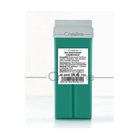Воск хлорофилловый в картридже COLOR 100мл Cristaline, 100 мл.