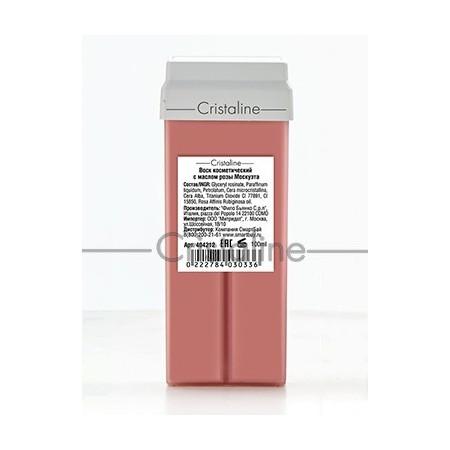 Воск с маслом розы москуэта в картридже COLOR Cristaline, 100 мл.